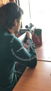 Sniper Shooting Experience in Belgrade